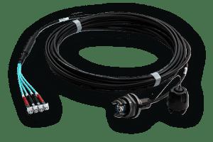 OM2 LC//ST InLine 88504 LWL Duplex Kabel 50//125/µm 0,5m