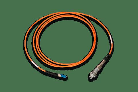 Konfektioniertes Kabel mit lösbarer Steckverbindung